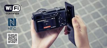 Снимка на Фотоапарат α6400 с байонет Е и с APS-C сензор