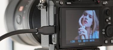 Снимка на α7 III с 35мм пълноформатен сензор за изображения
