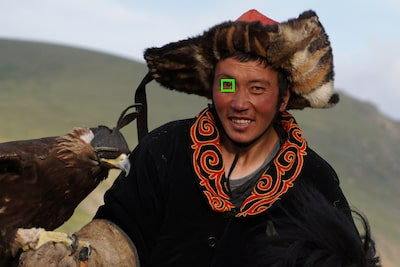 Избор с едно докосване на AF върху ляво/дясно око